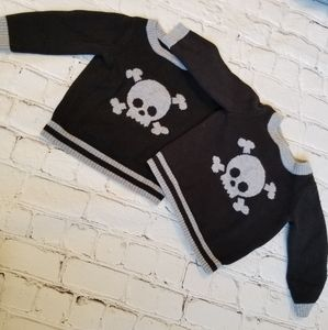 Other - Twins! Set of two Skull Sweaters